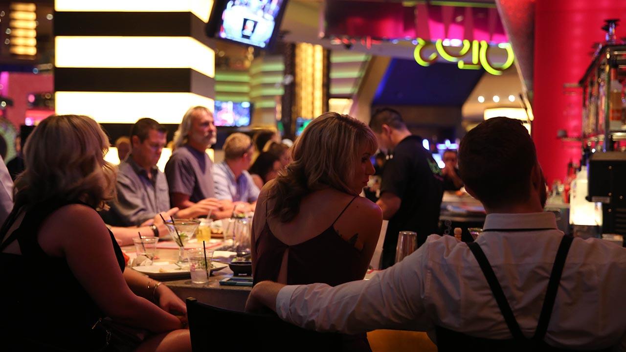 diners inside yolo restaurant
