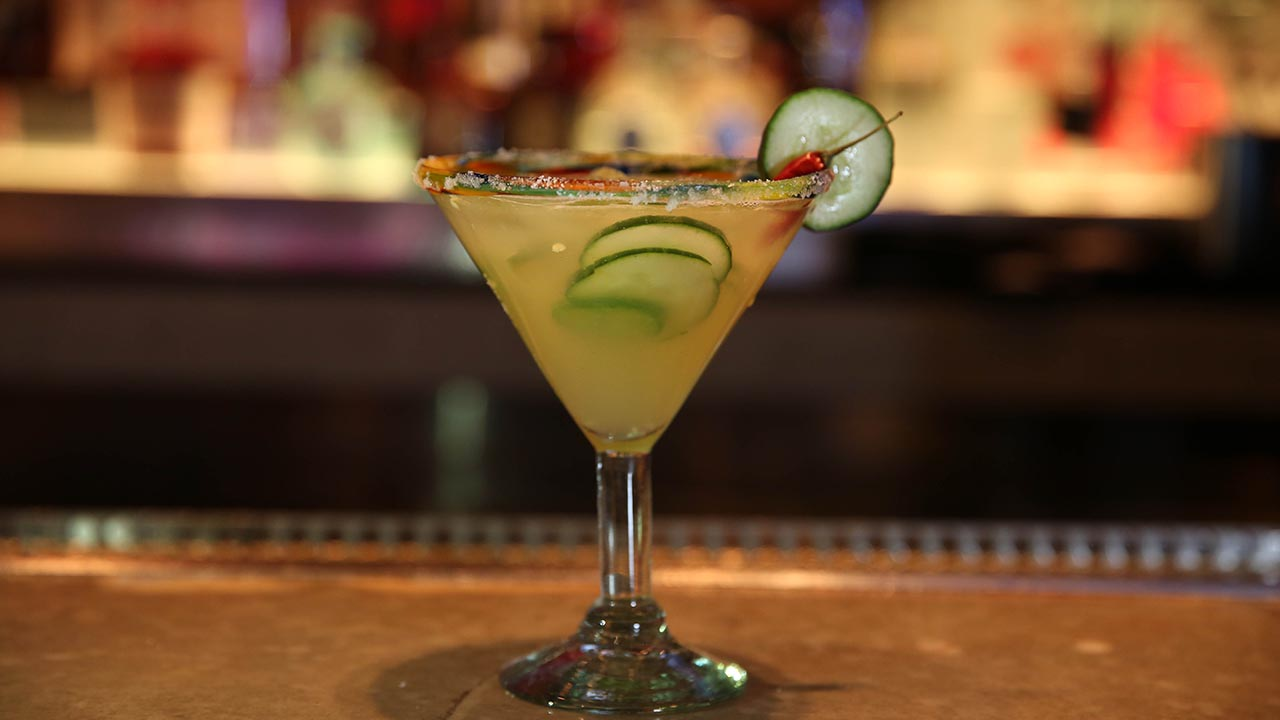 cucumber pepper martini